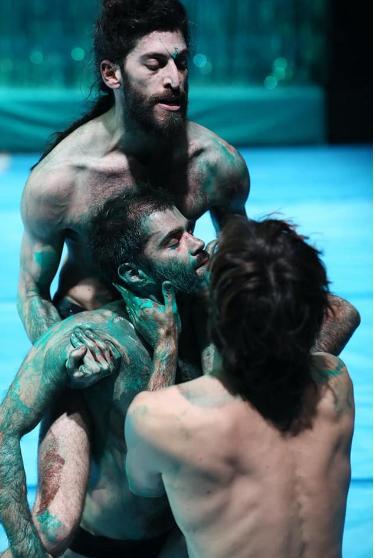 Raining Men – Carnival on the Battlefield. Or Marin and Oran Nahum Dance Theatre Group