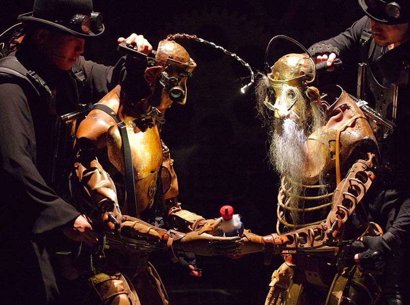 A Son, His Father, and Steampunk: Reliving Days of Future Past