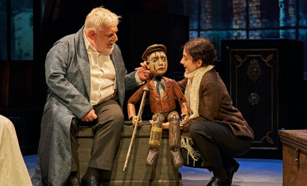 """A Christmas Carol""at The Bridge Theatre"