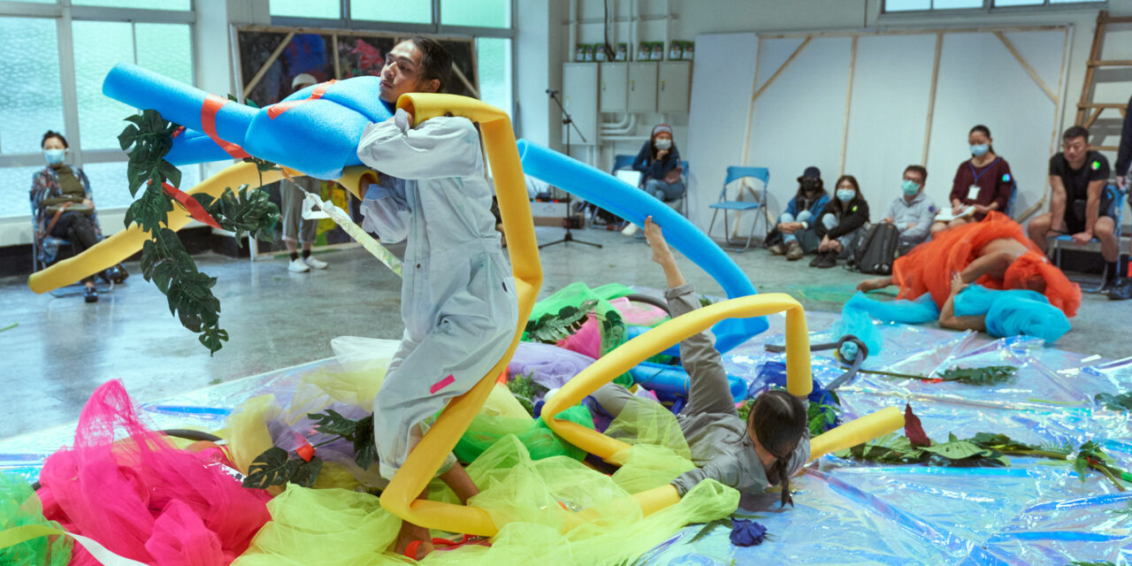 Windows into Performance Art: River Lin's Artistic and Curatorial Practices