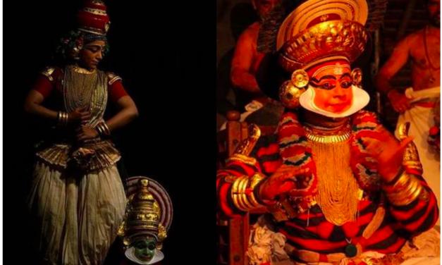 """Kalidasa's """"Vikramorvaseeyam"""" on Koodiyattam Stage"""