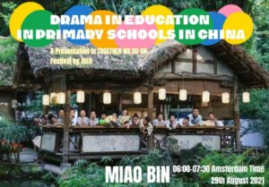 Poster for the presentation Drama in Education in Primary Schools in China