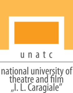 """Logo of the National University of Theatre and Film """"I.L."""
