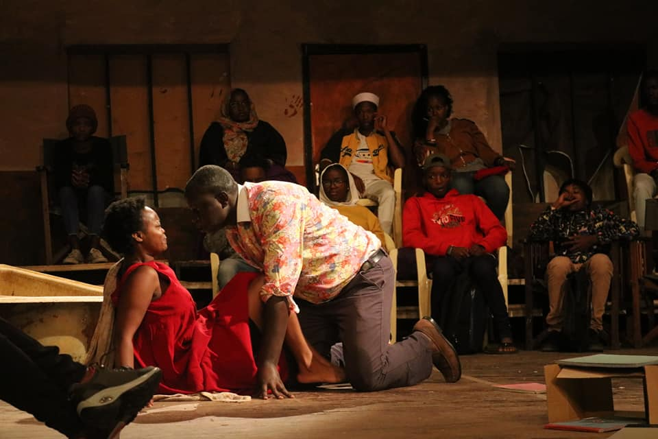 A past performance during the annual Kenya International Theatre Fest