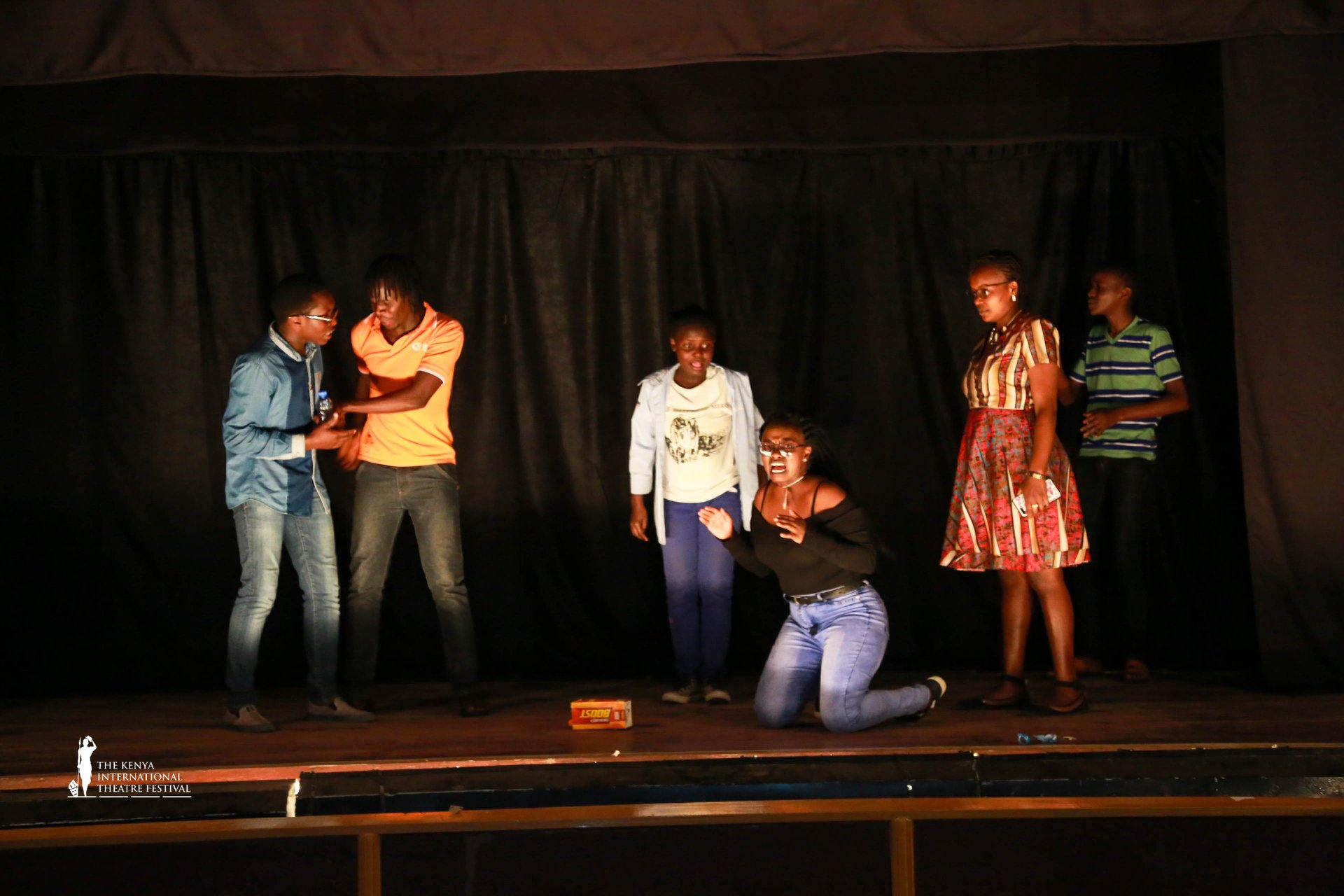 A past performance at the Nakuru Players Theatre. KTA jurists will assess performances across the country. (Photo: Kenya International Theatre Fest)
