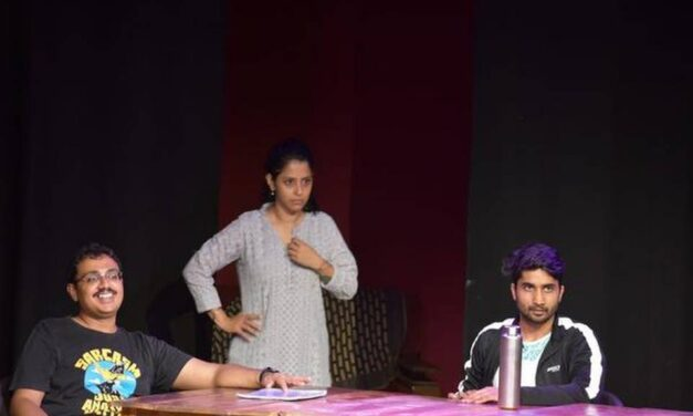 """A Hyderabad Staging of Alan Ayckbourn's Dark Comedy """"Table Manners"""""""